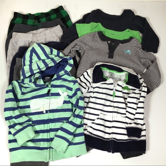 01c0381b32bf8 Carter s Other - Carters 12 Month Baby Boy Clothing Lot 11 Pieces